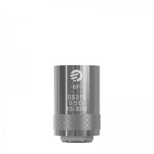 BF SS316 head 0.5ohm/0.6ohm/1.0ohm(5pcs)