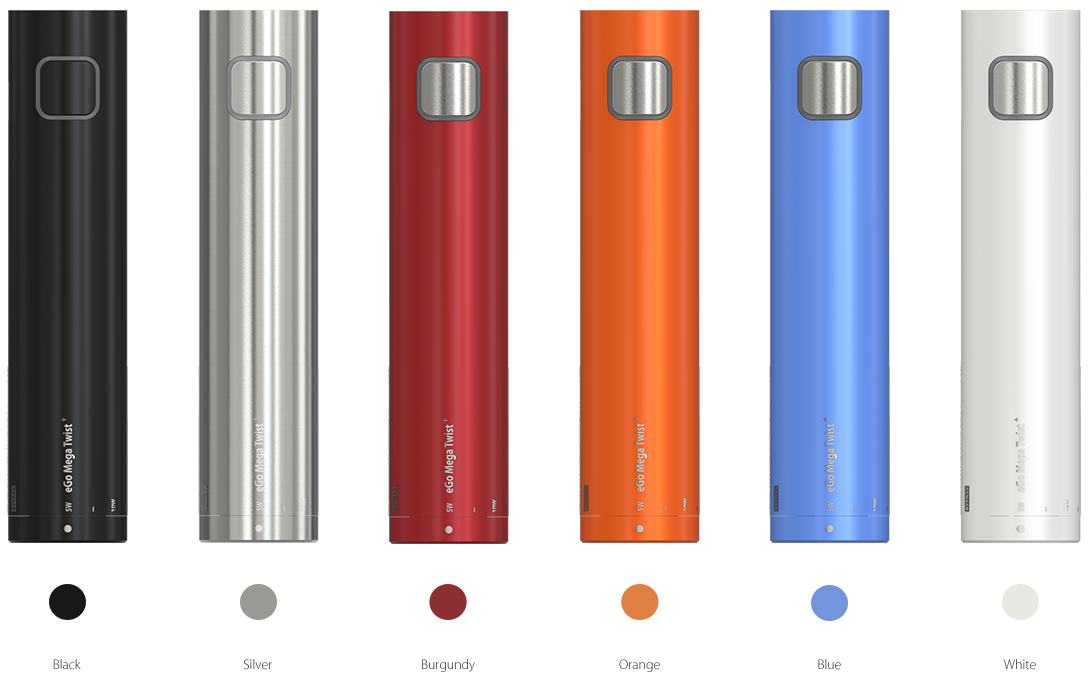 eGo Mega Twist Battery