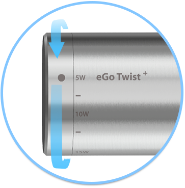 eGo Twist with CUBIS D19