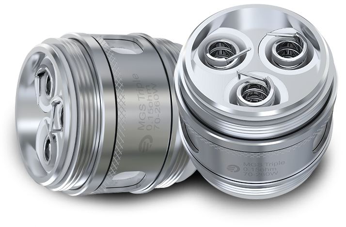 MGS Triple 0.15ohm head