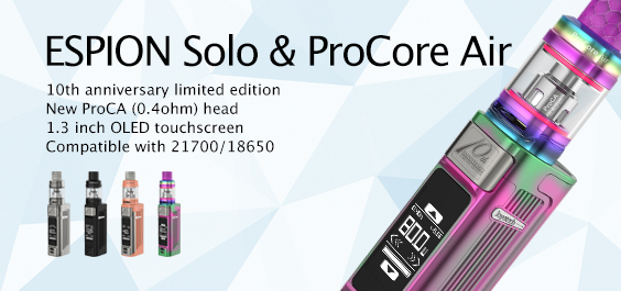 ESPION Solo with ProCore Air Kit Launching
