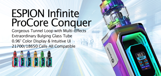 ESPION Infinite with ProCore Conquer Launching