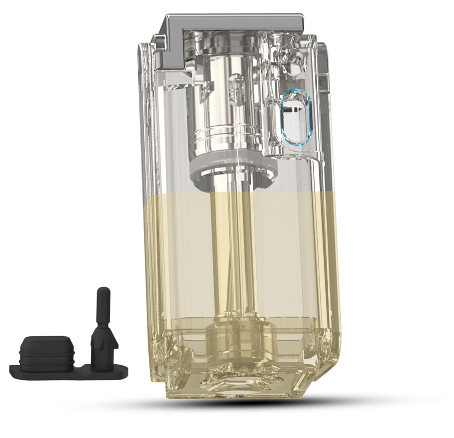 Joyetech EXCEED Grip Standard Cartridge Filling E-liquid