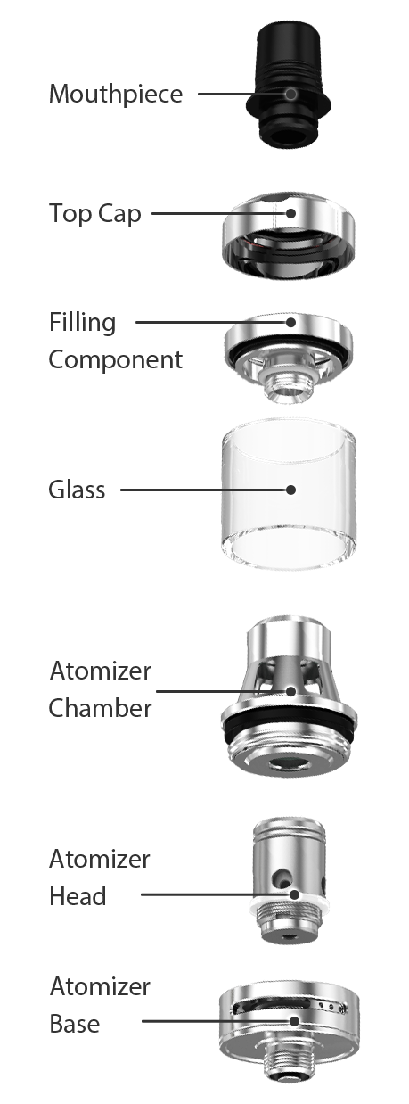 EXCEED X Atomizer